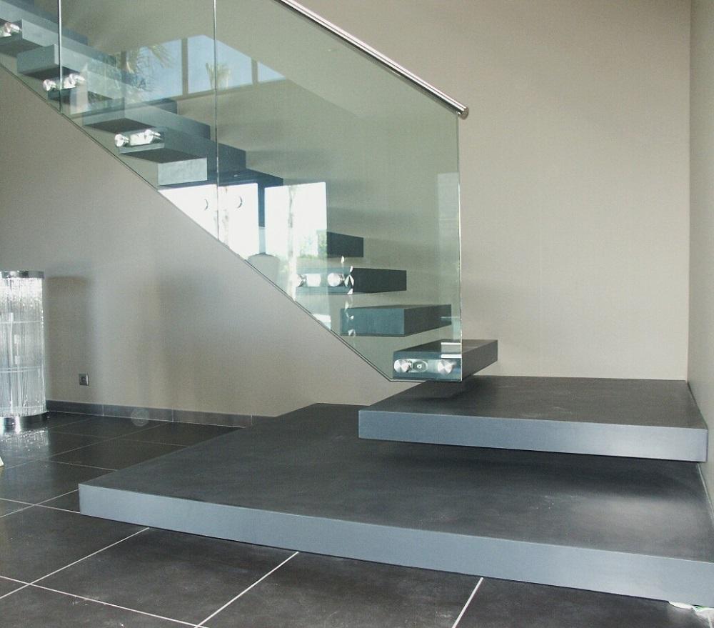 entretien beton cire douche r alisation d 39 une douche italienne en b ton cir dans une l. Black Bedroom Furniture Sets. Home Design Ideas