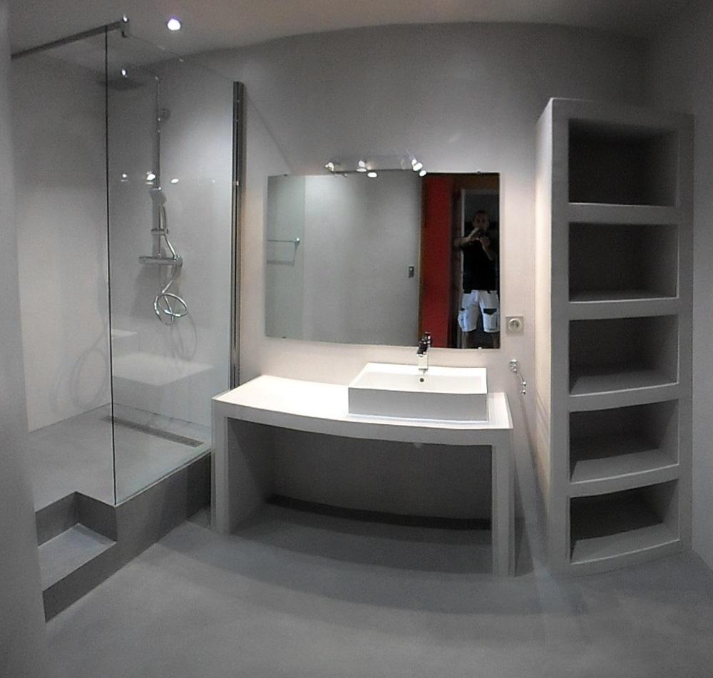 Specialiste Salle De Bain Perpignan ~ m c beton cir perpignan 66 matieres et couleurs