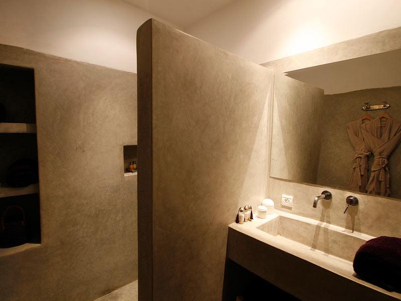m&c : enduits de chaux perpignan & 66 | matieres et couleurs - Enduit Salle De Bain